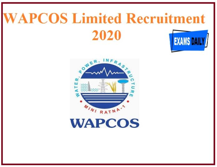 WAPCOS Limited Recruitment 2020 out – Download Application Form!!