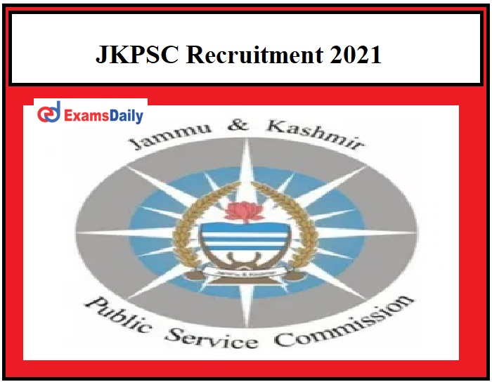 JKPSC Recruitment 2021 OUT – Apply for 70 Prosecuting Officer Posts Download Application Form!!!