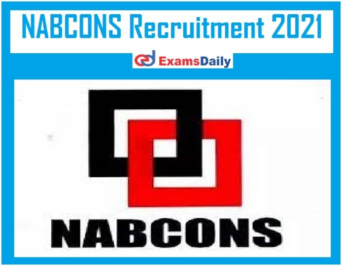 NABCONS Recruitment 2021 Out – Apply for NABARD Consultancy Vacancies Salary Up to Rs. 61,000- 80,000- PM!!!