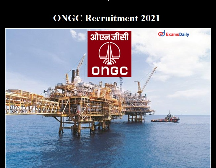 ONGC GDMO Recruitment 2021 OUT
