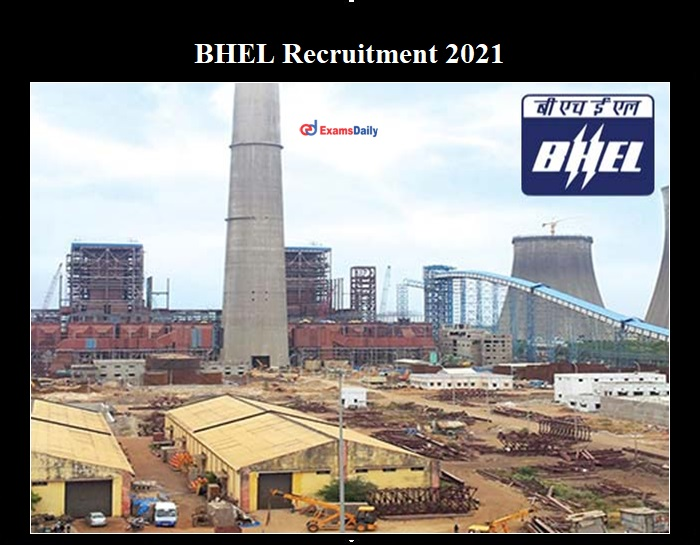 BHEL Recruitment 2021 OUT