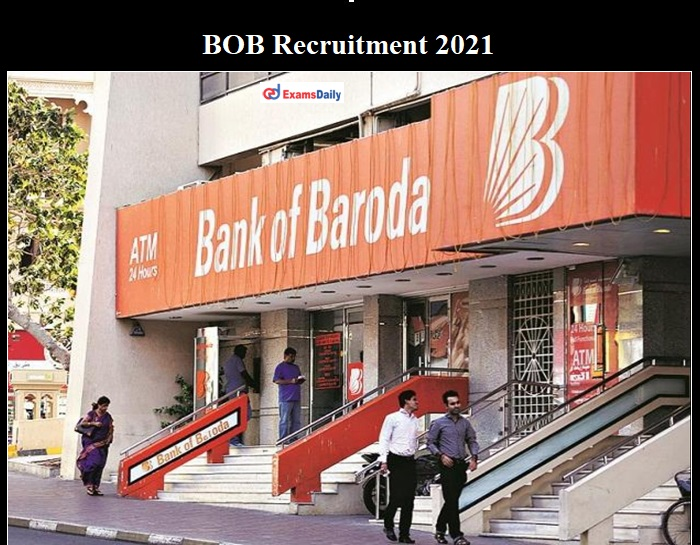 Bank of Baroda BC Supervisors Recruitment 2021 OUT