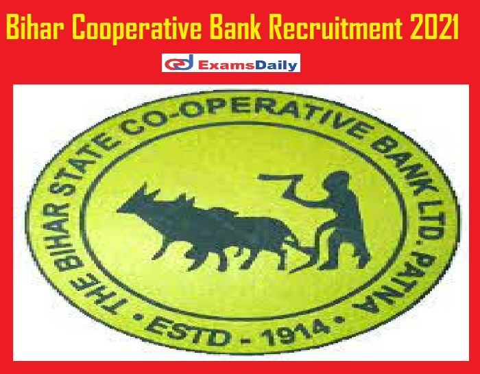 Bihar Cooperative Bank Recruitment 2021 Out – Apply Online Begins for 200 Assistant Vacancies @ scb.co.in!!!