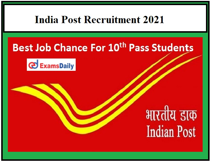 CG Postal Circle Recruitment 2021 OUT – Apply for 1100+ GDS Posts Chhattisgarh Post Office Vacancy!!!