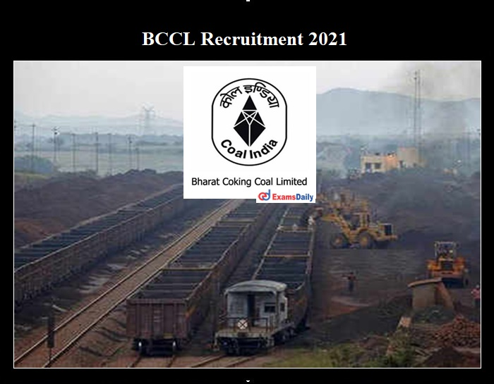 Coal India Recruitment 2021 OUT