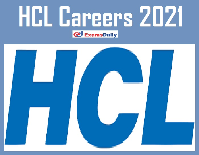 HCL Careers 2021 – Apply Online for Delivery Associate Vacancies!!!!