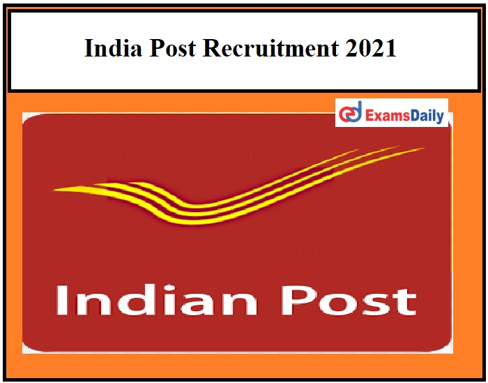 India Post Recruitment 2021 Apply Before March 22 Application Form Available Here!!!
