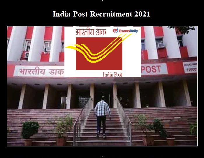 India Post Skilled Artisan Recruitment 2021 OUT