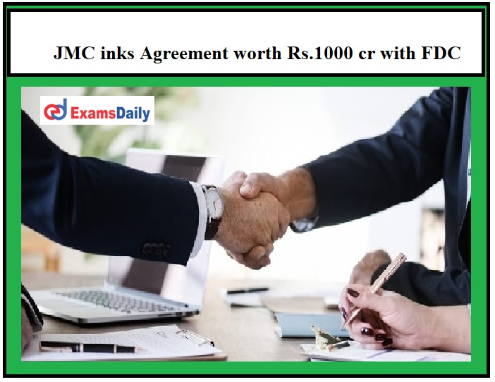 JMC inks Agreement worth Rs.1000 cr with FDC, Maldives!!!