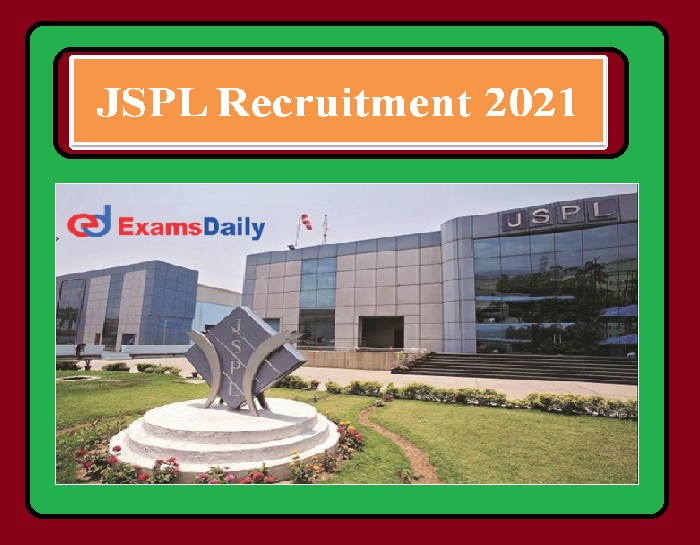 JSPL Recruitment 2021 OUT – System Audit, Java Programming & others Apply Here