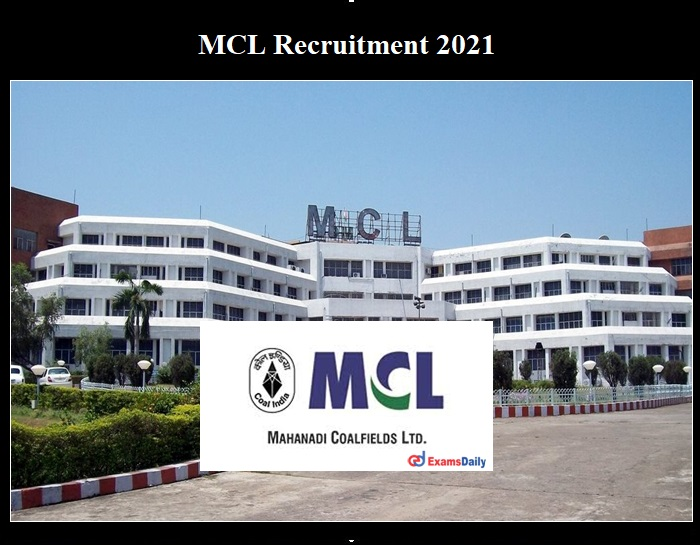 MCL Recruitment 2021 Notification OUT