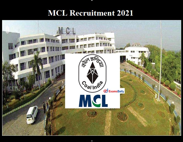 MCL Recruitment Notification 2021 OUT