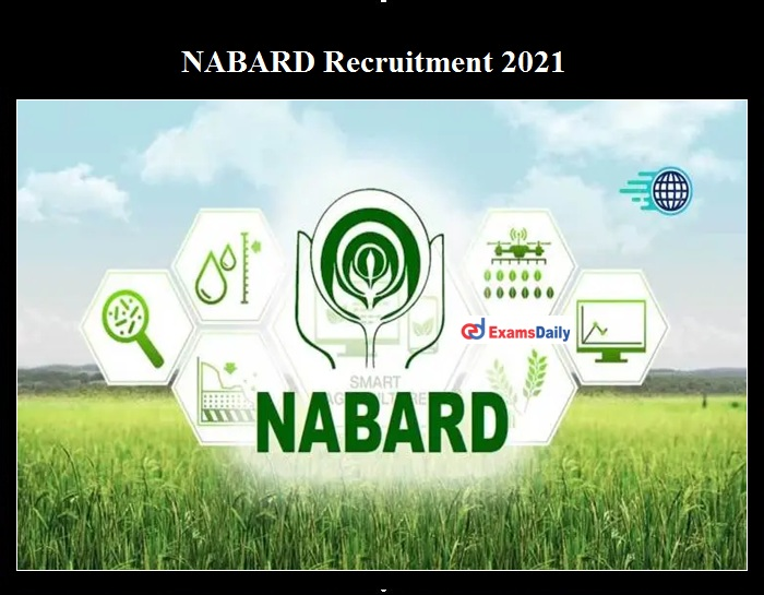 NABARD Special Consultant Recruitment 2021 OUT
