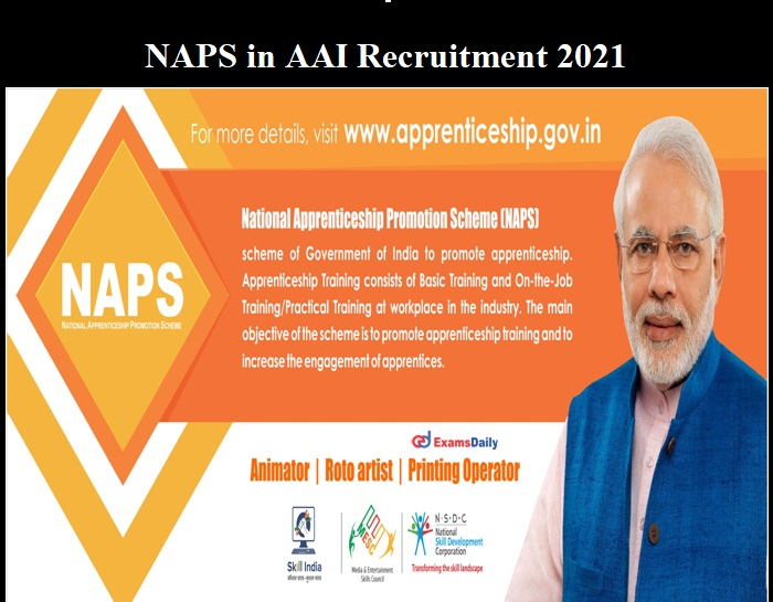 NAPS in AAI Recruitment 2021 OUT