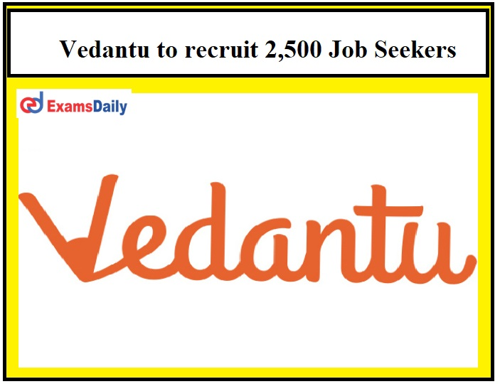Online tutoring firm Vedantu to recruit 2,500 Job Seekers over the next 3 Months!!!
