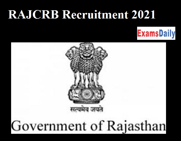 RAJCRB Recruitment 2021 OUT – Apply for Rajasthan RSCB Junior Assistant