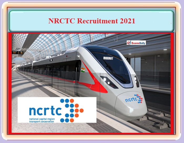 NRCTC Recruitment 2021 OUT – For Forest Officer Post - Download Notification PDF and Apply Online!!!